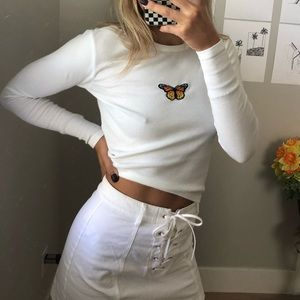 Brandy butterfly long sleeve